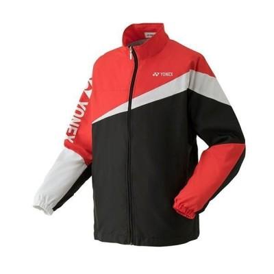 ヨネックス ジュニア 裏地付ウォームアップシャツ ブラック 52020J-007 <2021CON>