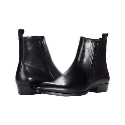 Steve Madden スティーブマデン メンズ 男性用 シューズ 靴 ブーツ ドレスブーツ Aspenn-L - Black