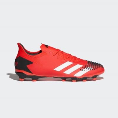 アディダス プレデター20.2HG/AG FV3198 メンズ サッカー スパイクシューズ E : レッド×ホワイト adidas