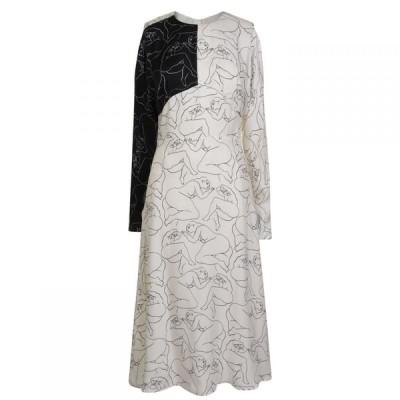 バイ マレーネ ビルガー BY MALENE BIRGER レディース ワンピース ワンピース・ドレス Lady Print Dress White Z