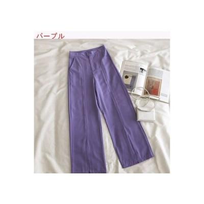 【送料無料】小 心 機 スプリット スーツのズボン 女 夏 韓国風 シンプル 単一色 | 346770_A62771-0074753