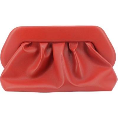 テモワール THEMOIRE レディース クラッチバッグ バッグ Faux Leather Clutch Red