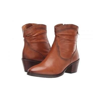 Pikolinos レディース 女性用 シューズ 靴 ブーツ アンクルブーツ ショート Huelma W2Z-8552 - Brandy