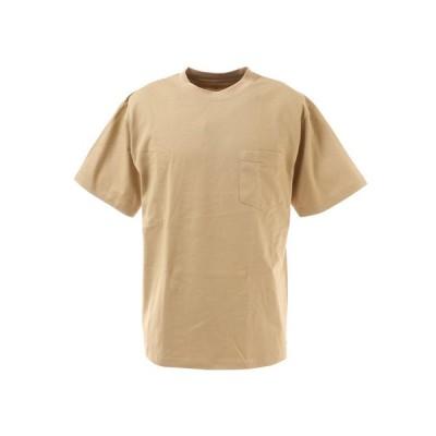 スライド(SLYDE) Tシャツ メンズ 半袖 ショートスリーブ ポケット SL-ALL-002-BEG カットソー (メンズ)