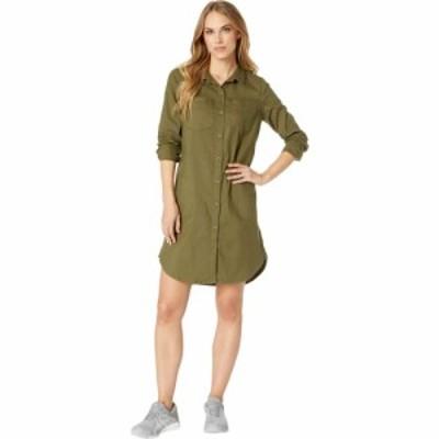 プラーナ Prana レディース ワンピース ワンピース・ドレス Yarrow Dress Cargo Green