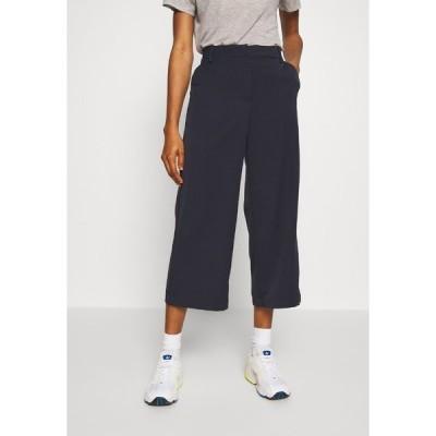 ミニマム カジュアルパンツ レディース ボトムス CULOTTA - Trousers - navy blazer