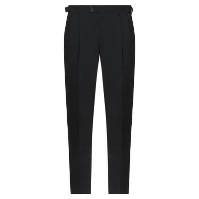 UNGARO パンツ ブラック 48 バージンウール 100% パンツ
