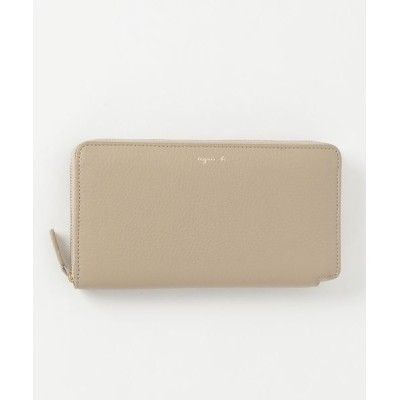 agnes b. / MW02-03 ラウンドジップロングウォレット WOMEN 財布/小物 > 財布