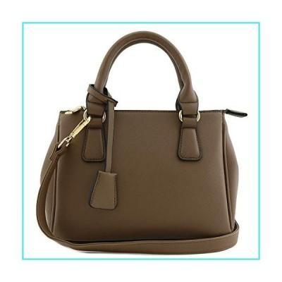 【新品】Classic Triple Zip Top Handle Mini Satchel Bag Stone(並行輸入品)