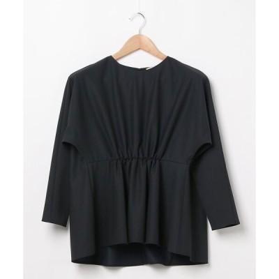tシャツ Tシャツ Demi-Luxe BEAMS / フロントギャザー プルオーバー