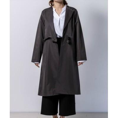 TOKYO SHIRTS / ノーカラーコート WOMEN ジャケット/アウター > ノーカラージャケット