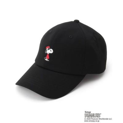 BASESTATION / ピーナッツ PEANUTS 別注 スヌーピー ローキャップ CAP MEN 帽子 > キャップ