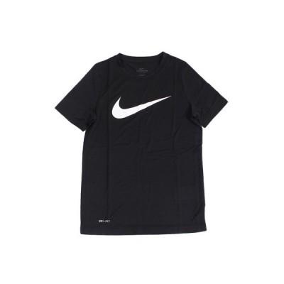 ナイキ(NIKE) 半袖Tシャツ ジュニア Tシャツ ジュニア ジュニア ドライフィット レッグ スウッシュTシャツ AR5307-011SU19 オンライン価格 (キッズ)