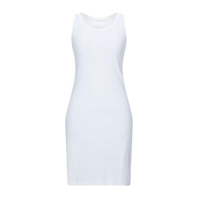 リビアナ コンティ LIVIANA CONTI ミニワンピース&ドレス ホワイト S コットン 100% ミニワンピース&ドレス