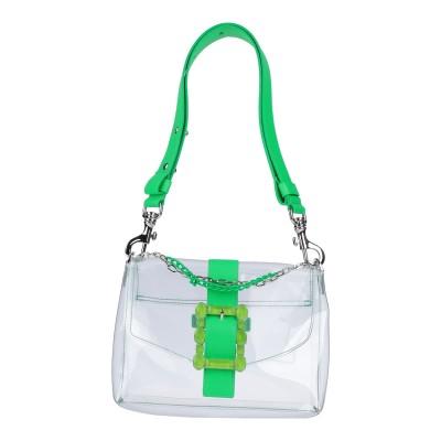 オルチアーニ ORCIANI メッセンジャーバッグ ビタミングリーン ゴム / 革 メッセンジャーバッグ