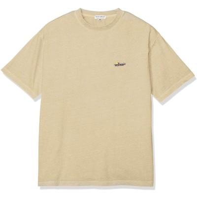ベイクレスト BAY CRESTワンポイント刺繍 ピグメント加工 半袖Tシャツ 215813 BEIGE 日本 M (日本サイズM相当)
