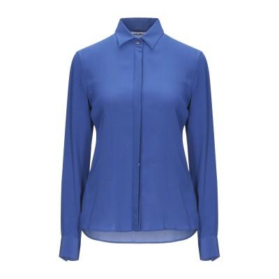 カリバン CALIBAN シャツ ブルー 40 シルク 100% シャツ