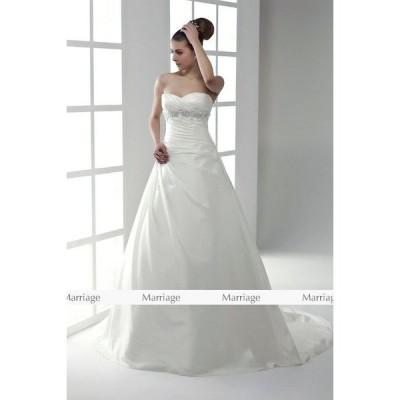 a95011 ウェディングドレス  ウエディングドレス マタニティー対応