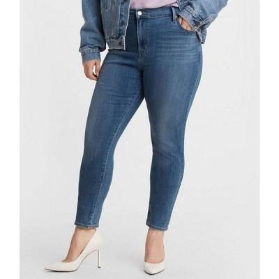 リーバイス レディース デニムパンツ ボトムス Levi'sR 721 Plus Size High Waist Skinny Jeans
