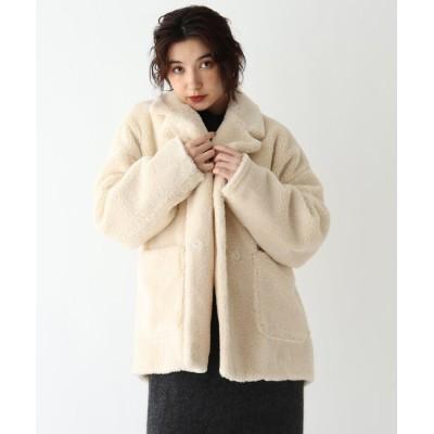 JET NEWYORK(ジェット ニューヨーク) テディエコファーショート丈コート