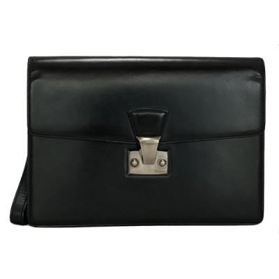 カルティエ セカンドバッグ パシャ レザー 黒 ブラック 2C C2 L1000230 ハンドストラップ付 メンズ ビジネスバッグ 紳士 CARTIER Cartier