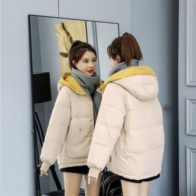 レディース ダウンコート ダウン綿コート TKFIRDY16206 Aライン 軽い ダウンジャケット 大きいサイズ 中綿コート 上品 2019秋冬新作