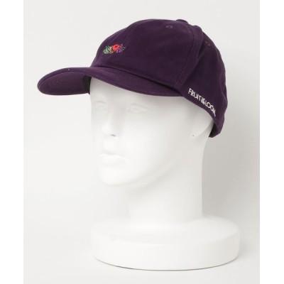 MASSIVE STORE / 【FRUIT OF THE LOOM/フルーツオブザルーム】LOGO EMB LOW CAP MEN 帽子 > キャップ