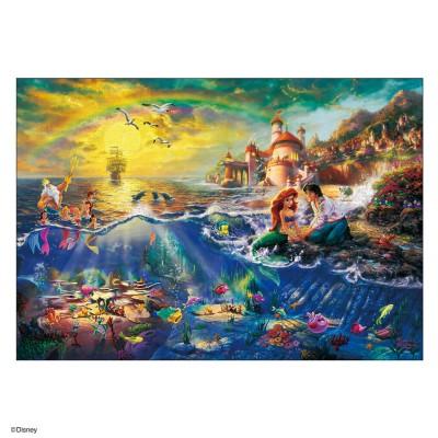 Disney ディズニー  1000ピース ジグソーパズル The Little Mermaid キッズ