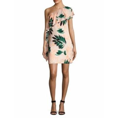 スクリプティッド レディース ワンピース Ruffled One-Shoulder Dress