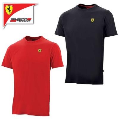 (フェラーリ/FERRARI)フェラーリ クラシック スモール ロゴ Tシャツ 半袖 メンズ
