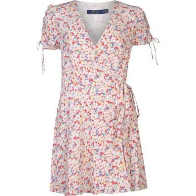 ラルフ ローレン POLO RALPH LAUREN レディース ワンピース ラップドレス ポロ ワンピース・ドレス Polo Short Sleeved Wrap Dress Sakura Floral