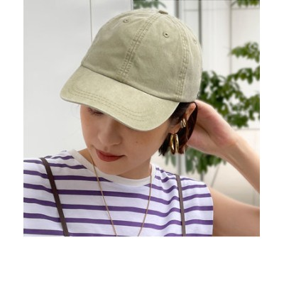 【ADAMS HEADWEAR/ アダムスハードウェア】DYED-CAP
