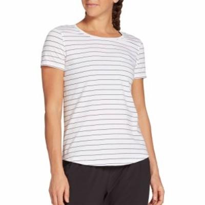 キャリー アンダーウッド CALIA by Carrie Underwood レディース Tシャツ トップス Relaxed Fit T-Shirt Pure White/Pure Black Str