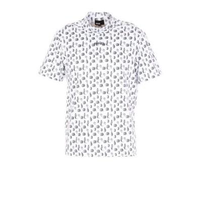 ピン(PING)ショートスリーブモックネックシャツ 621-1168002-030
