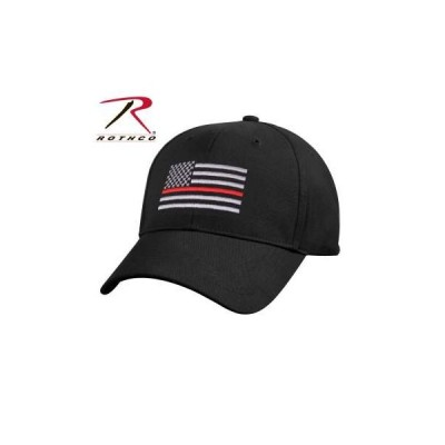 ROTHCO / ロスコ 9896 Thin Red Line Flag Low Profile Cap:Black 帽子/キャップ