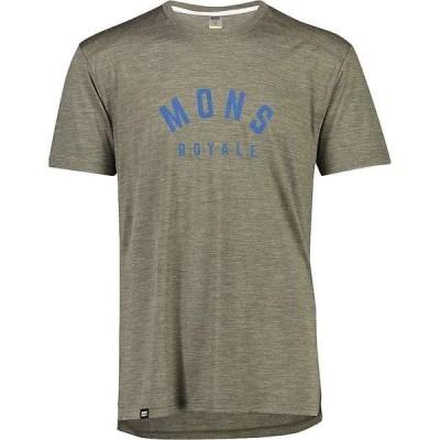 モンスロイヤル メンズ Tシャツ トップス Mons Royale Men's Vapour Tee