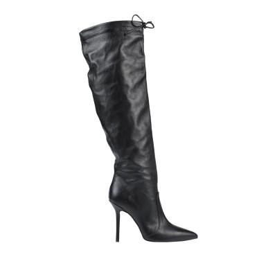 リュー ジョー LIU •JO ブーツ ブラック 35 革 ブーツ