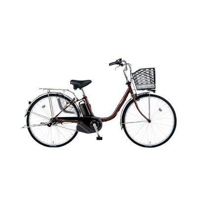 パナソニック 電動アシスト自転車 ビビSX BE-ELSX632T / チョコレートブラウン / オフィス用品 作業用品 制服 / 32213