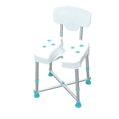 COLOR 荷重型鋁合金洗臀洗澡靠背椅(免工具組裝)