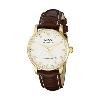 Mido Men's MIDO-M86003268 Baroncelli Analog Display Swiss Automatic Brown Watch 並行輸入品