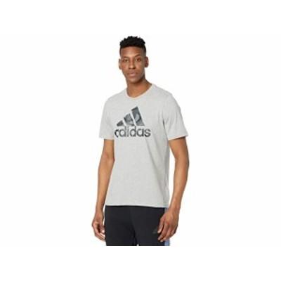 (取寄)アディダス メンズ カモ ティー adidas Men's Camo Tee Medium Grey Heather/Grey