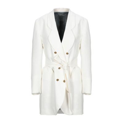 BLAZÉ Milano テーラードジャケット ホワイト III コットン 60% / シルク 17% / ナイロン 14% / レーヨン 9% テ