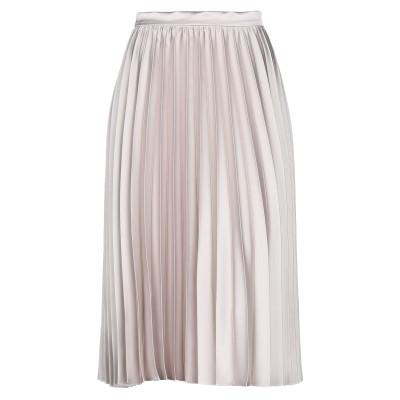 RUBENDELLARICCIA 7分丈スカート ベージュ 46 ポリエステル 100% 7分丈スカート