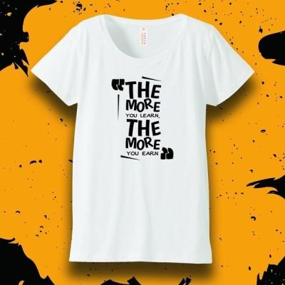 オリジナル レディースTシャツ【THE MORE】