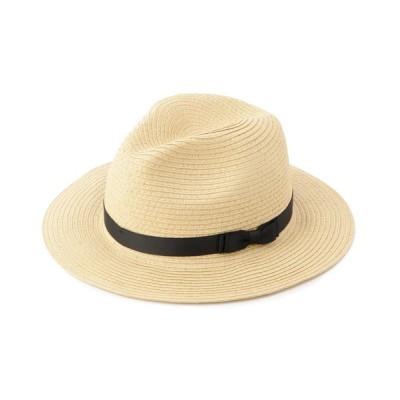 SHOO・LA・RUE / リボン使いペーパー中折れハット WOMEN 帽子 > ハット
