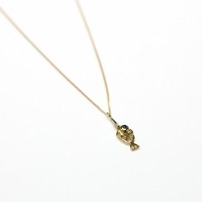 イロンデール エペパン hirondelle et pepin / k18 hn-20fw-540 fishing ネックレス / ゴールド レディース ギフト プレゼント アクセサ