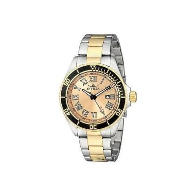 インヴィクタ 15000 45ミリ プロ ダイバー クラシック デート トゥー トーン ステンレス スチール メンズ 腕時計