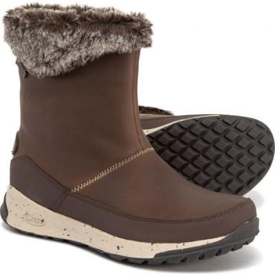 チャコ Chaco レディース ブーツ シューズ・靴 Borealis Mid Boots - Waterproof, Slip-Ons Mink