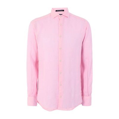 エムシーツー・セイント・バース MC2 SAINT BARTH シャツ ピンク S リネン 100% シャツ