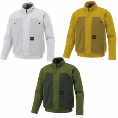 空調ウェア 長袖 服単体 長袖ブルゾン KU92181 M~5L サンエス 空調風神服 (w04222)